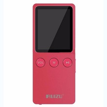 "1.8 ""RUIZU Ultrafino 8 GB Hifi Lossless Reproductor de MP3 200 Horas con FM Reloj color de Rosa lindo regalo perfecto"