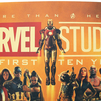 Avengers 10th Anniversary Vintage Poster 2