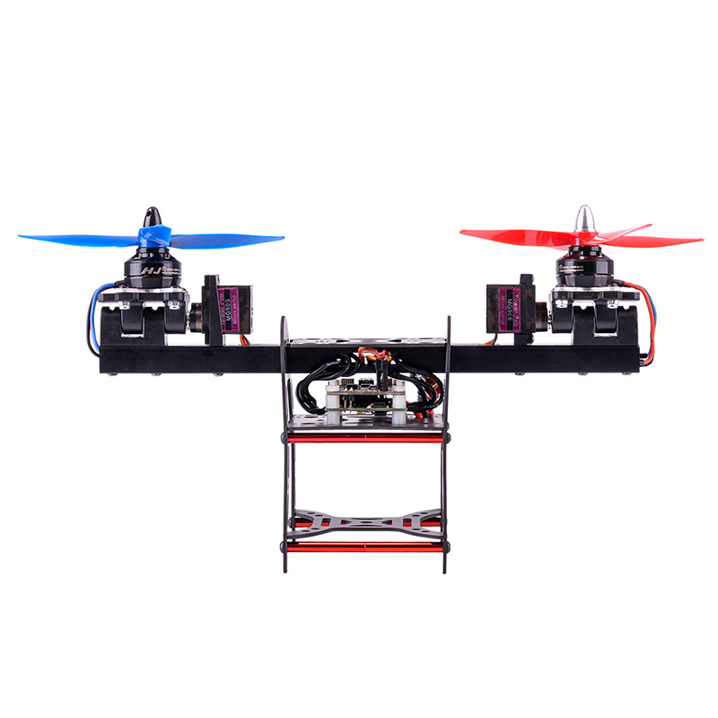 DIY FPV racing drone HJ-2502 two-axle Carbon fiber aluminum alloy frame Biaxial aircraft with Servo aluminum alloy 25t steering servo horn