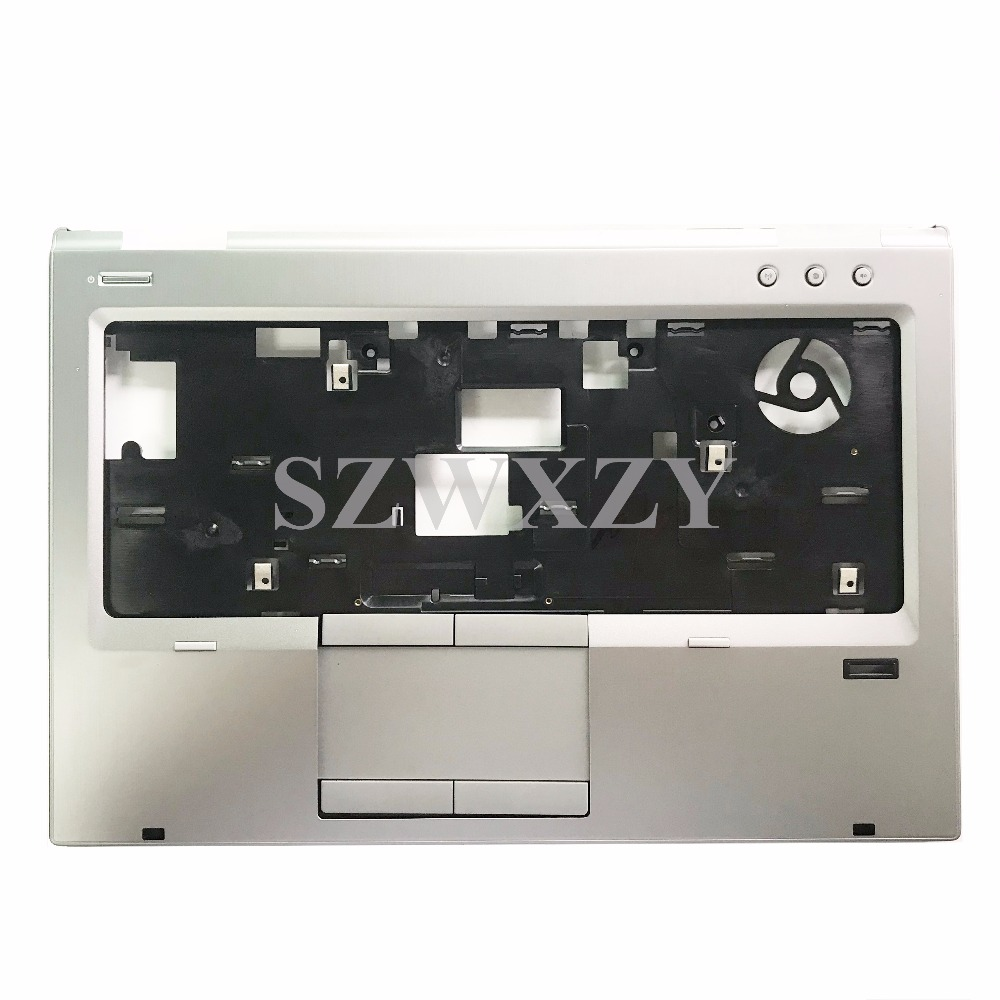 US $47 4 21% OFF SZWXZY New For HP EliteBook 8470p Palmrest and Touchpad  Fingerprint Reader 686964 001 TOP COVER-in Laptop Bags & Cases from  Computer