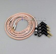LN006227 4 в 1 разъем 16 ядер OCC + посеребренный кабель для Hifiman HE560 он-350 HE1000 V2 наушников