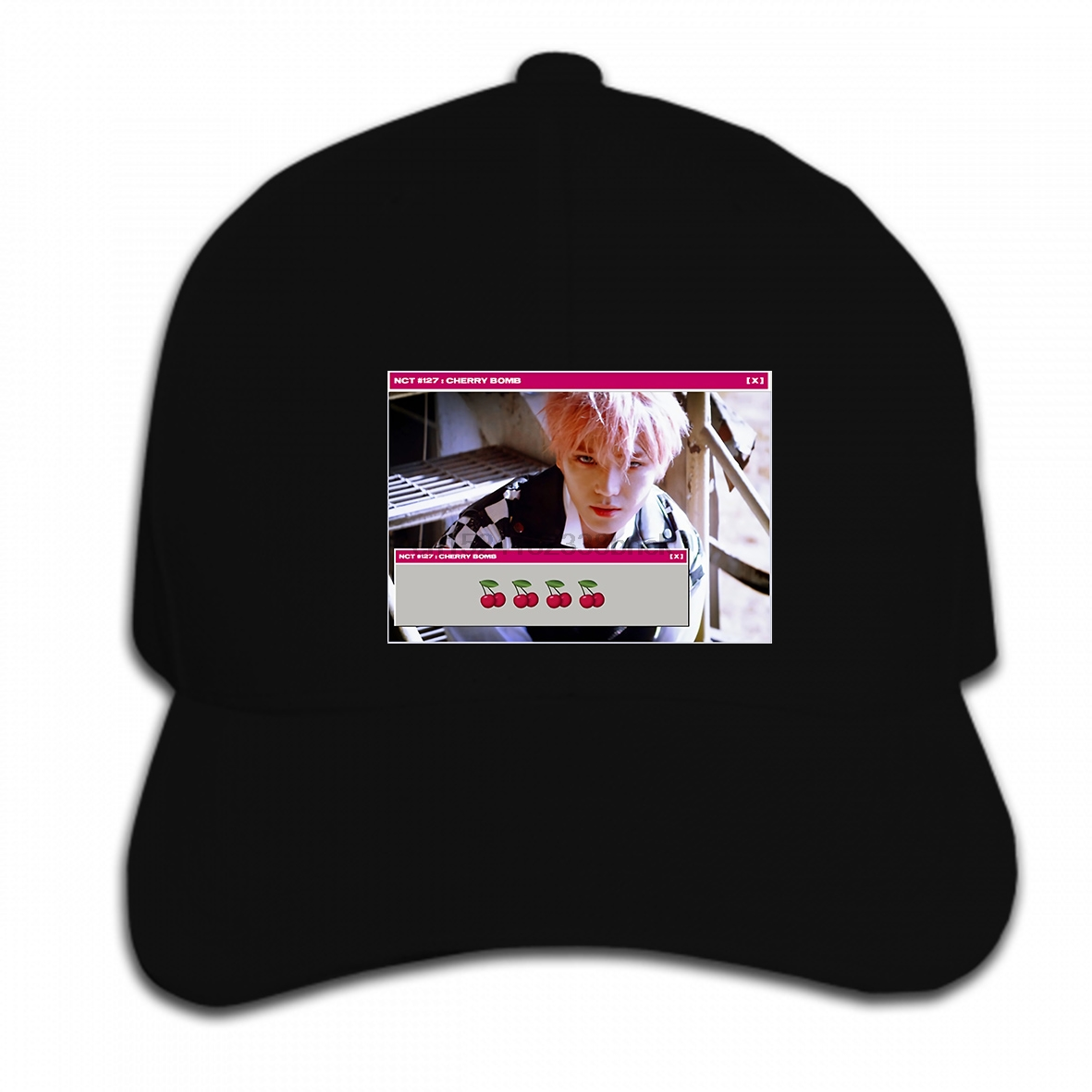 Detail Feedback Questions about Print Custom Baseball Cap Hip Hop Men NCT  127 Taeyong Cherry Bomb Women Hat Peaked cap on Aliexpress.com  daa5096b92d1