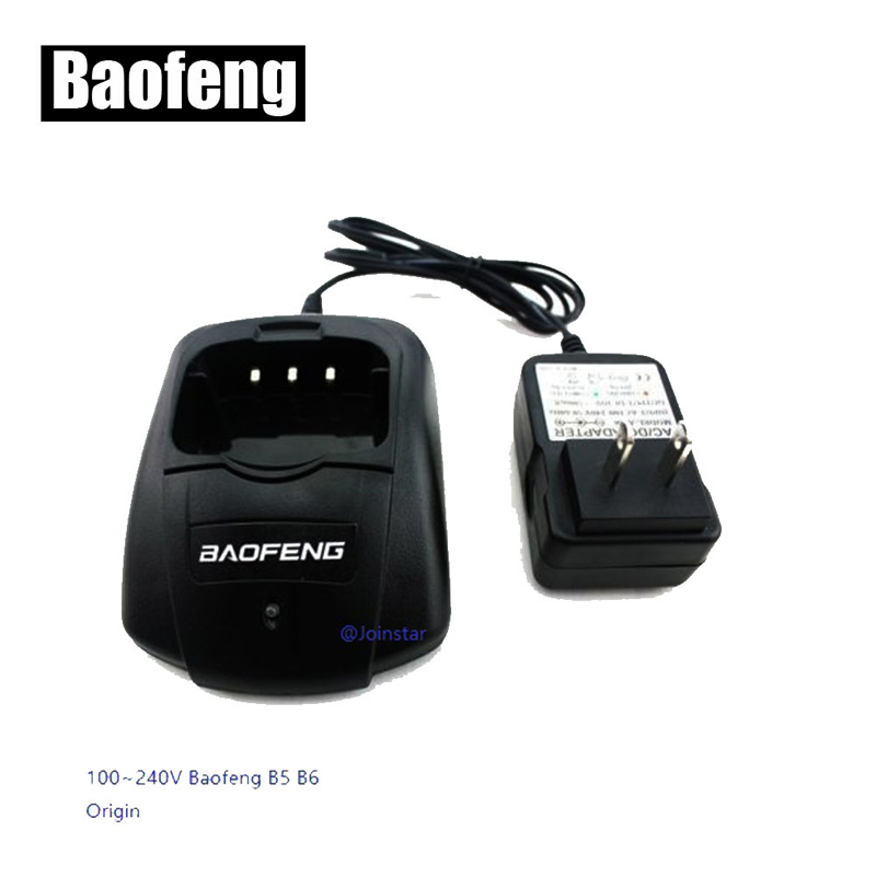 10PCS  Original Desktop Charger For BAOFENG Two Way Radio UV-B5 UV-B6 (Europe Or U.S.A. Type) Walkie Talkie
