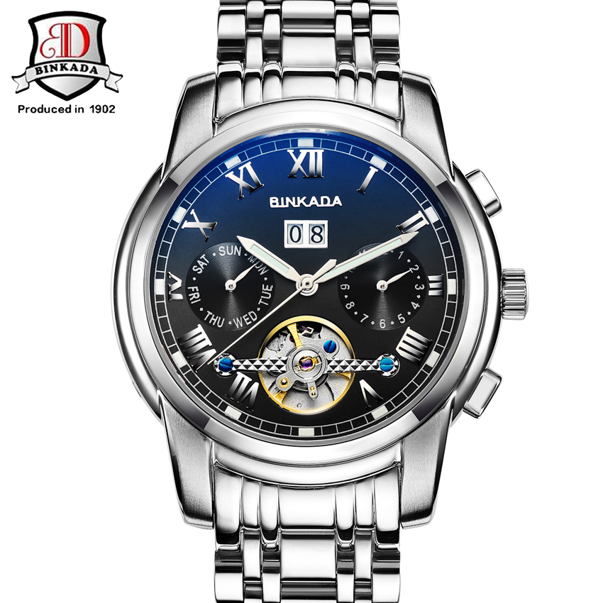 mechanical watch mens business casual mens watch montres homme grande marque de luxe montre