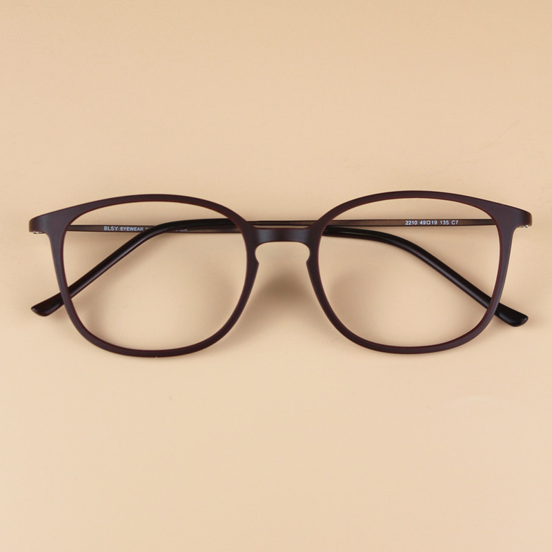Large Frame Utlem Eye Glasses Ultra Light Myopia Glasses