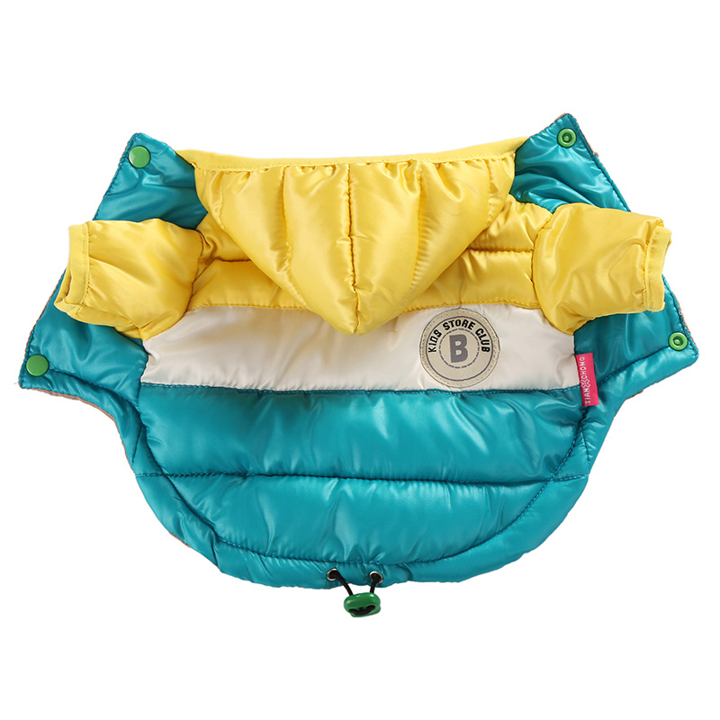 Waterproof and Hooded Dog Jacket with Leash Hole Ideal for Autumn/Winter Season 16
