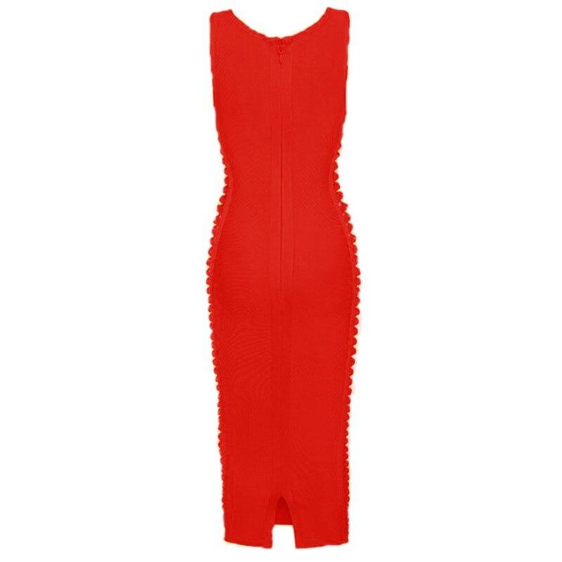 Blanc Robes nude orange Noir Bandage 2016 red Nouveautés Nudewhitered Moulante Robe Orange short Black Purple Midi Kimkardashian Hl pqSUGLMVzj