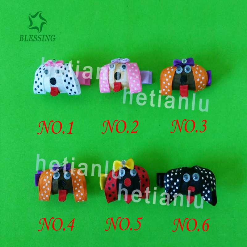 20 Fashion Hair Clip Dog Cat Bear Pig Horse Panda Monkey Mickey Elephant Fox