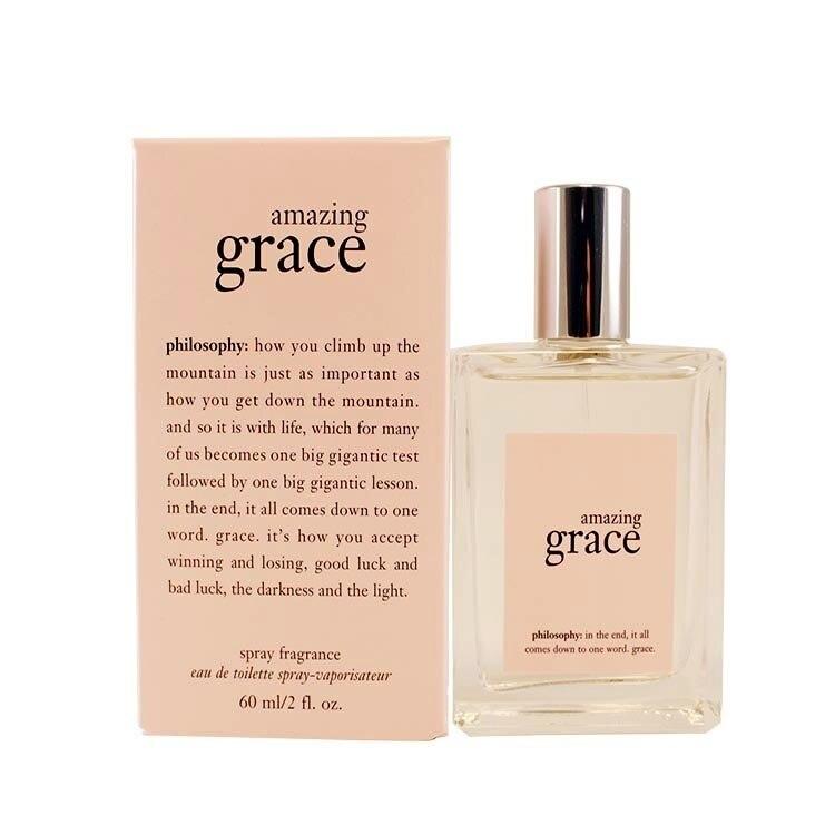 Amazing Grace Perfume By Philosophy For Women Eau De Toilette Spray 2.0 Oz / 60 Ml amazing grace cd