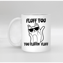 Funny Porcelain white coffee Mug tea Milk cup mugs for Birthday Christmas gift fluff you