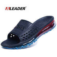 44ecdcba381f82 Aleader High Quality Men s Cushioned Summer Sandals 2017 Breathable Beach Sandals  Outdoor Water Shoes Men Sport