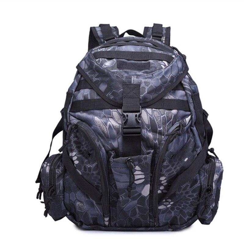 Sac à dos militaire tactique en plein air sac à dos Camping randonnée Camouflage sac de Sport sacs de voyage 20-35L Mochilas