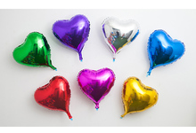 7pcs foil Party Inflatable Balloons outdoor kid children toy Air heart-shaped star Happy Birthday Wedding Decoration activity цена