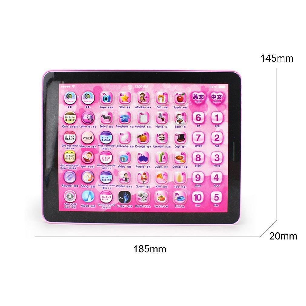 1PC Computer Learning Education Machine Tablet Toy For Kids Chrismas GiftTouch Tablet Learning Machine Early Education Reading