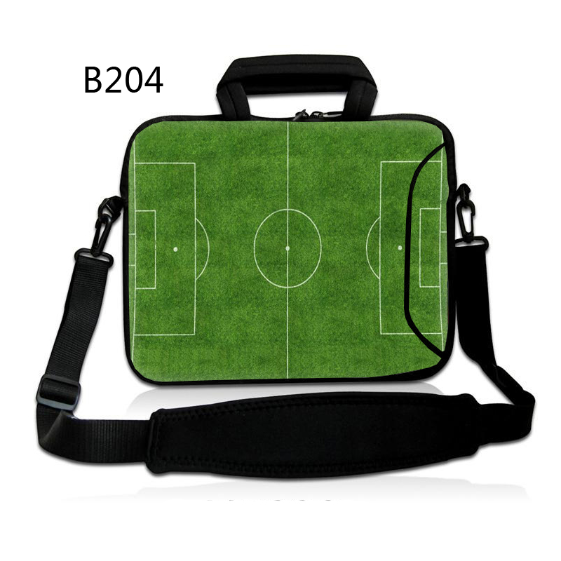 93431f2a6b62 US $16.37 22% OFF|Pitch Neoprene Ladies Travel Carry Case Messenger Pouch  Laptop Shoulder Bag Briefcase for 13 13.3 14 15 15.6 17inch Notebook-in ...