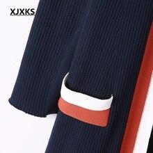 long sleeved fashion high elasticity knit cardigan coat
