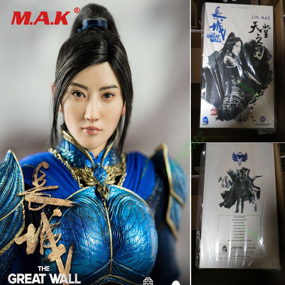 For Collection Full Set 1/6 Female Female General Action Figure Threezero 3Z0048 Girl Lin Mae Jing Tian The Great Wall for Fans For Collection Full Set 1/6 Female Female General Action Figure Threezero 3Z0048 Girl Lin Mae Jing Tian The Great Wall for Fans