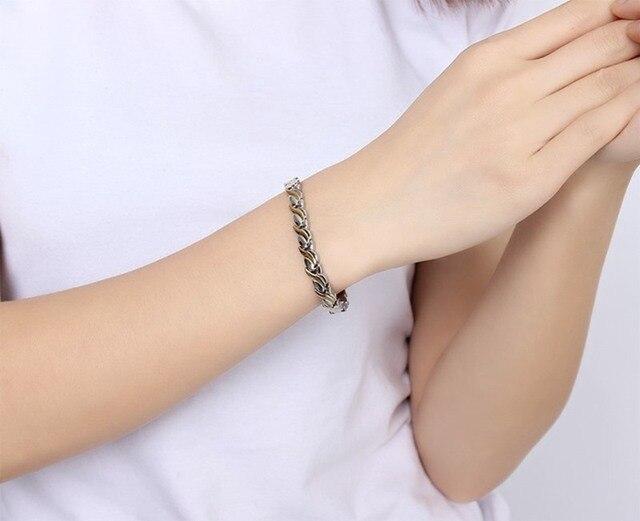 высококачественные модные браслеты из нержавеющей стали germaniun фотография
