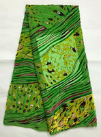 Velvet Fabric In Green 5yards Pcs With Twills Deisgn For Sewing Dubai Velvet Party Dress Sep