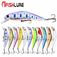 Fishing Lure Trout Bait 85mm/15g Minnow Lures Hard Baits Artificial Soft Colorful High Quaility