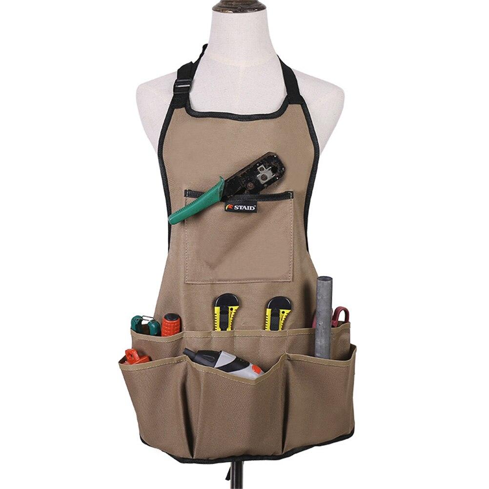 Getrouw 1 Pc Mannen Vrouwen Multi-zakken Multi-functionele Duurzaam Oxford Stof Tool Schort Voor Garage Keuken Tuin Workshop