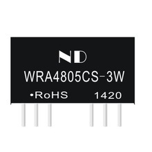 48 V de bajada a 5 V 3 W dc dc convertidor de voltaje de entrada ancha dual output dc-dc transformador SIP