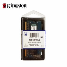 Kingston 1333MHz 2GB 1Rx16 256M x 64-Bit PC3-10600 CL9 204-Pin  memoria ddr3 for notebook