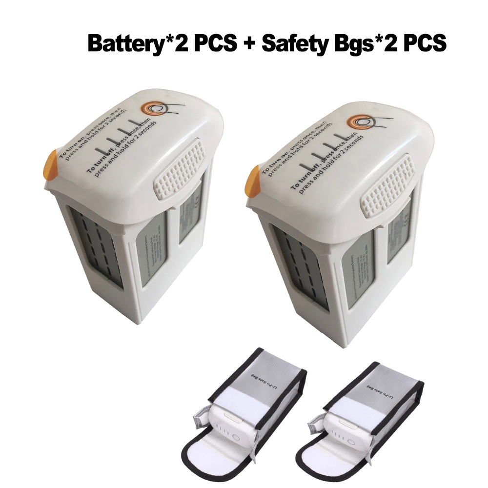 2X CLEAN DOLL 5870 mAh Replacement Drone Battery for DJI Phantom 4 Advanced Pro LiPo quadcopter Battery with free safety bag replacement 3 7v 3500mah battery pack with back case for lg optimus 2x p990 p993