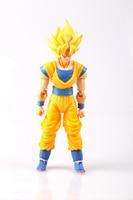 14 см СВЧ Dragon Ball модель Супер Saiyan Сон Гоку фигурку подвижные суставы Уход за кожей лица изменить Сон Гоку Рисунок Игрушки