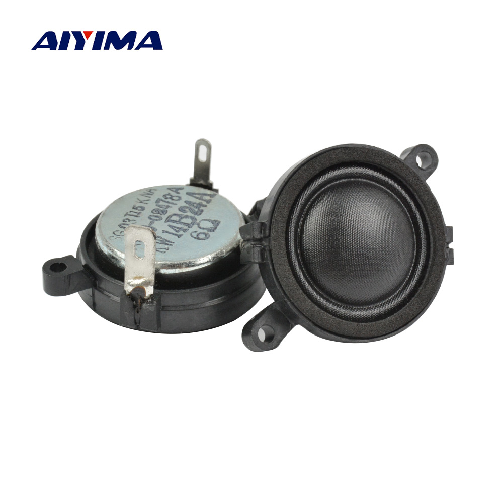 1.2Inch Mini Audio Potable Speakers 30Mm 6Ohm 20W Silk Film Music Tweeter Speaker For LG Speaker DIY Home Theater