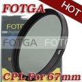 FOTGA 67mm Circular Polarizing C-PL PL CPL Filter 67 Circular Polarizing C-PL PL-CIR CPL filter