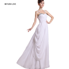 Simple Cheap Chiffon Wedding Dresses Ruched Boho Summer Beach Bridal Gown Bohemian Engagement Dress robe de mariage