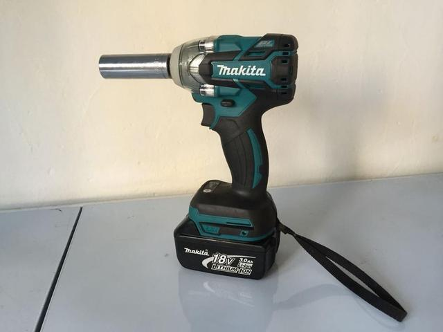 Makita Used Dtw281 18v Lithium Battery Charging Socket Wrench Brushless Electric Impact