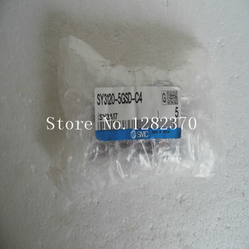 цена на [SA] New Japan genuine original SMC solenoid valve SY3120-5GSD-C4 spot --5pcs/lot