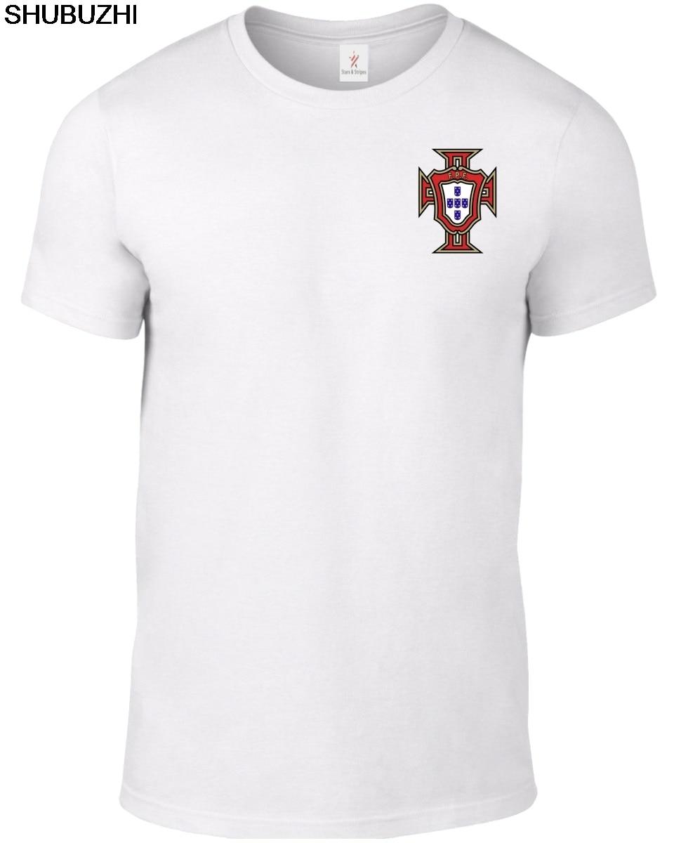 Cotton Fashion 100% Cotton Slim Fit Top Shubuzhi Portugal Men'S Footballer Legend Soccer Street Wear Shirts Sbz5463