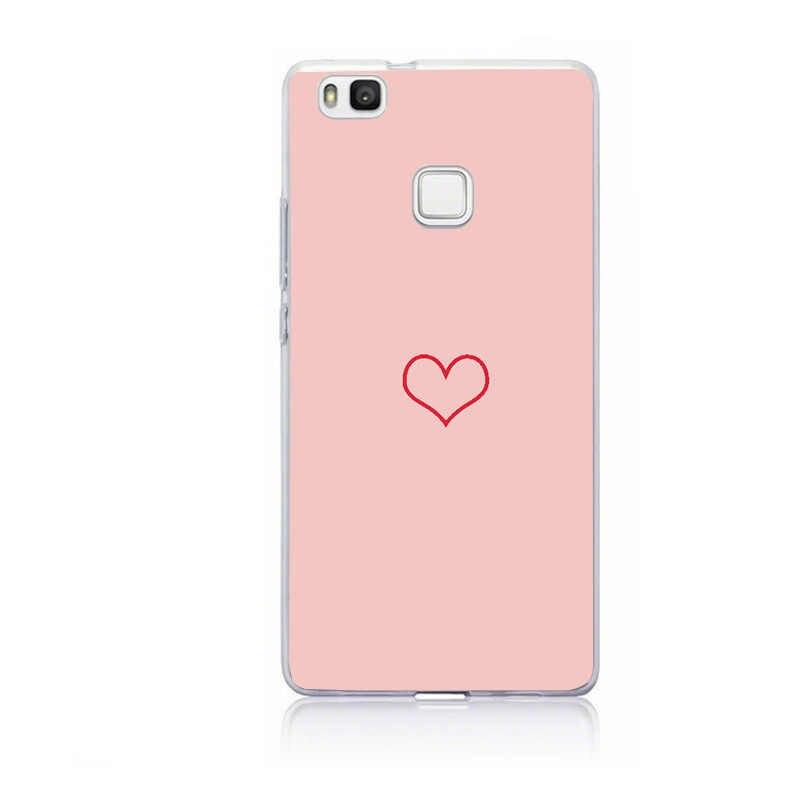 Para huawei p9 lite mini caso huawei p9lite 2017 silicone macio capa para huawei p8 p10 companheiro 10 lite capa coque pára telefone caso
