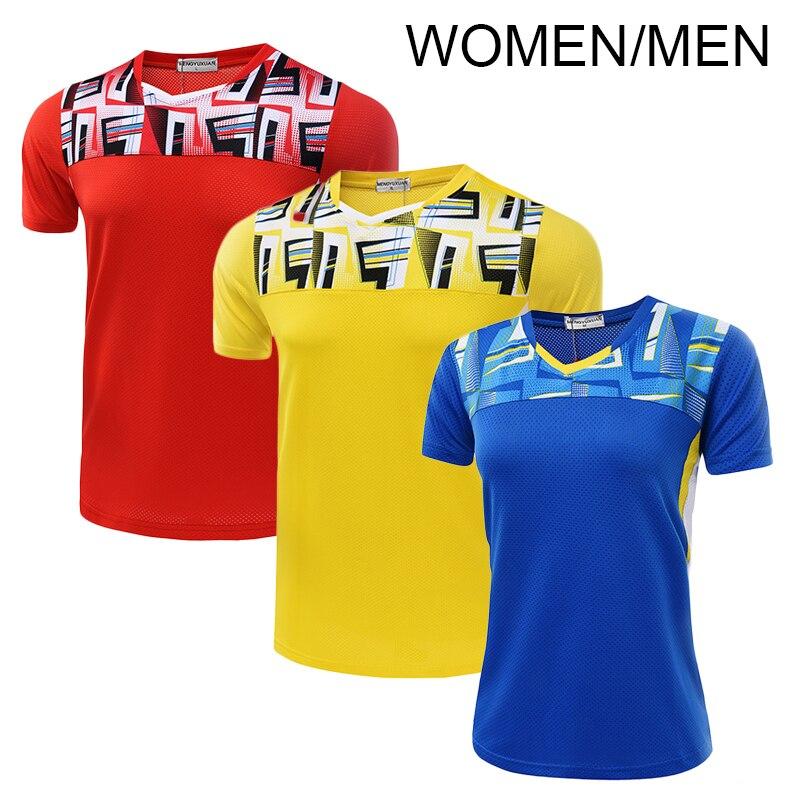 Free Printing Name Badminton shirt , tennis shirt Men / Women , pingpong shirt , sports shirt 5052AB