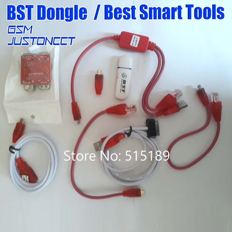 gsmjustoncct BST dongle for HTC SAMSUNG xiaomi oppo vivo unlock screen S6  S7 lock repair IMEI record date Best Smart tool dongle