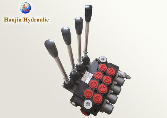 Гидравлический ручной клапан управления 4 катушки для буровых установок