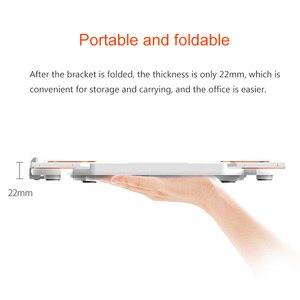 Image 5 - 360 회전 노트북 스탠드 접이식 노트북 스탠드 맥북 레노버 노트북 홀더 컴퓨터 냉각 브래킷 전화 홀더