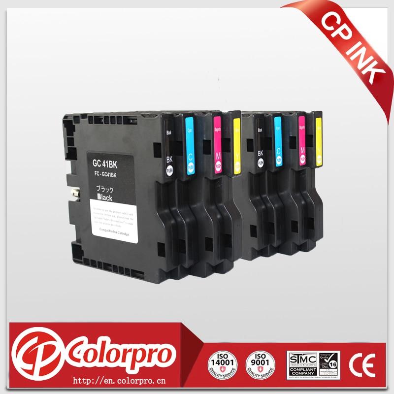 Wholesale 8PK Sublimation Ink Cartridge for Ricoh GC41 GC 41 for Aficio SG3110DN Aficio SG3110DNW Aficio