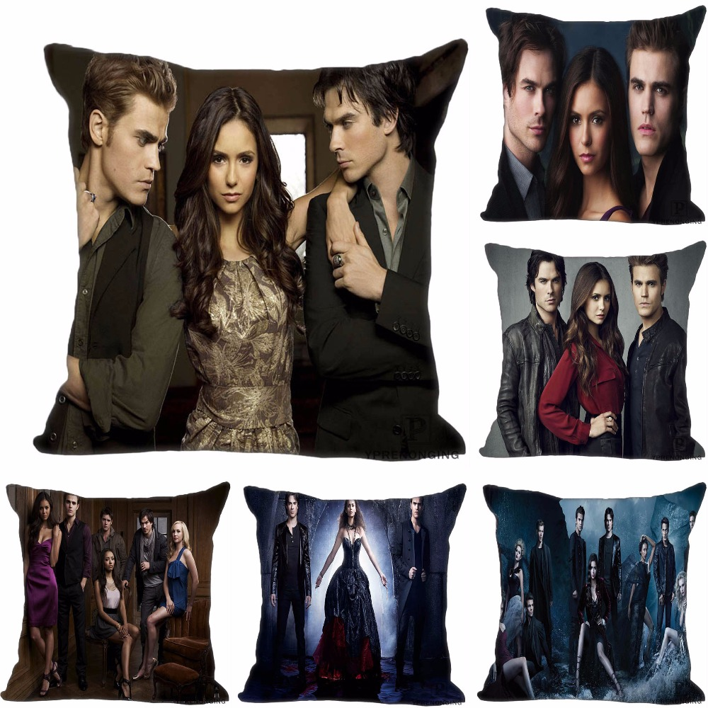 Benutzerdefinierte Dekorative Kissenbezug Vampire Diaries Platz Mit