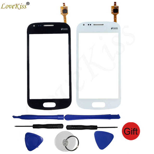 Front Panel For Samsung Galaxy Trend S7560 S Duos S7562 GT-S7562 7562 7560 Touch Screen Sensor LCD Display Digitizer Glass Cover