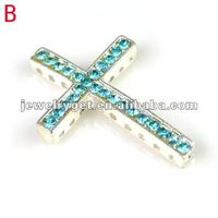 Side Way Cross Jewelry Accessores Western Pendants For Jewelry Making Pt 638