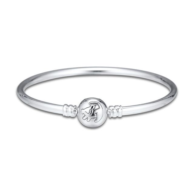 Le Bracelet Bracelet roi Lion sadapte aux perles bijoux en argent Sterling pour femme mode maquillage mode Bracelet européen