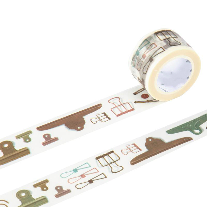 Jamie Notes Vintage Washi Tape Paper Clips Sticker Planner Decorative Scrapbooking Tools Diy Diary Accessories Kawaii Stationery topshop jamie