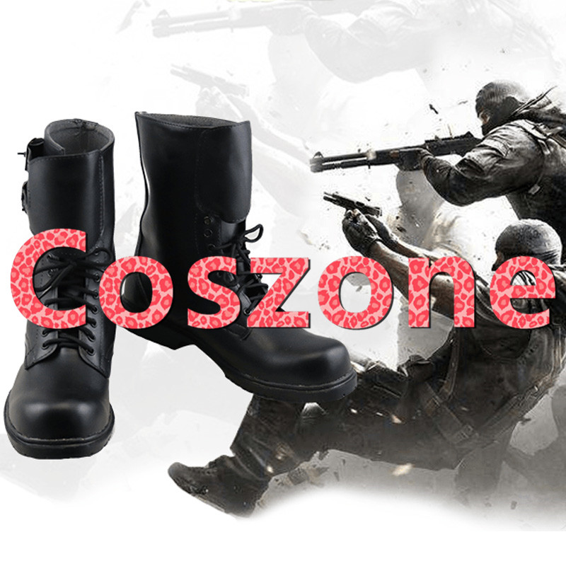 Game Rainbow Six Quack Cosplay Shoes Boots Halloween Carnival Cosplay Costume Accessories