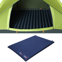 220*142cm Built in air pump Camping Mat Picnic Barbecue Inflatable cushion Automatic Inflatable Double mattress