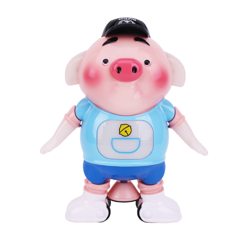 Seaweed Dance Dancing Piglet Electronic Toys With Light Singing Walking Cute Pig Interactive Baby Gift ToysToys