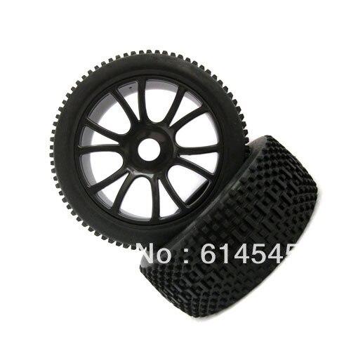 84B-801 4PCS RC 1/8 Off-Road Car Buggy 17mm Hub Wheel Rim & Tires,Tyre For HSP 84B-801 jjrc q39 84 fy clo1 wheel for q39 rc car 2pcs page 8